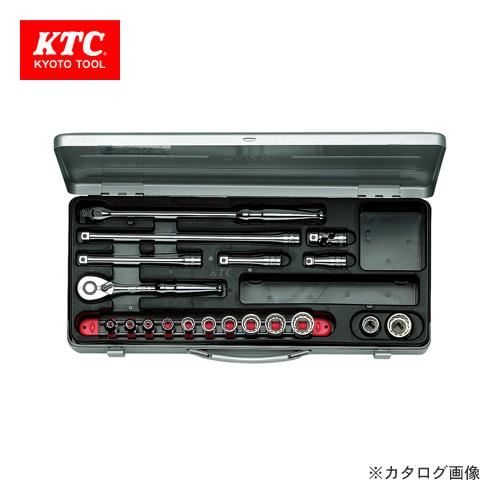 KTC 9.5sq. ソケットレンチセット(19点) TB312X