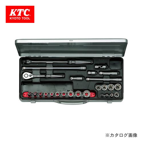 KTC ソケットレンチセット(26点) TB318