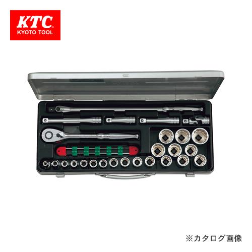 KTC 12.7sq. ソケットレンチセット(26点) TB420X