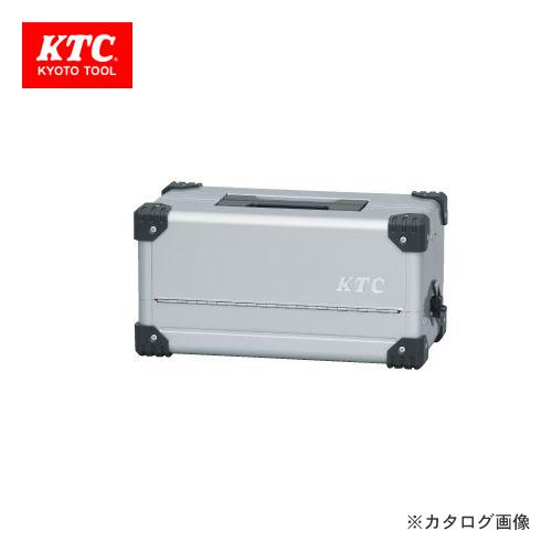 KTC 両開きメタルケース メタリックシルバー EK-10A