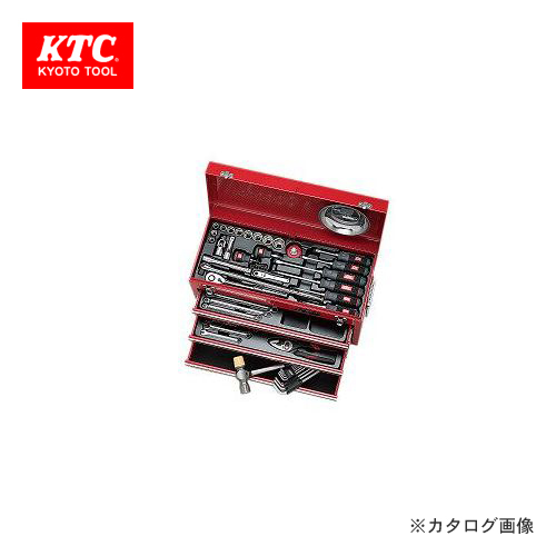 【4/1はWエントリーでポイント19倍相当!】KTC 工具セット (チェストタイプ) SK4586X