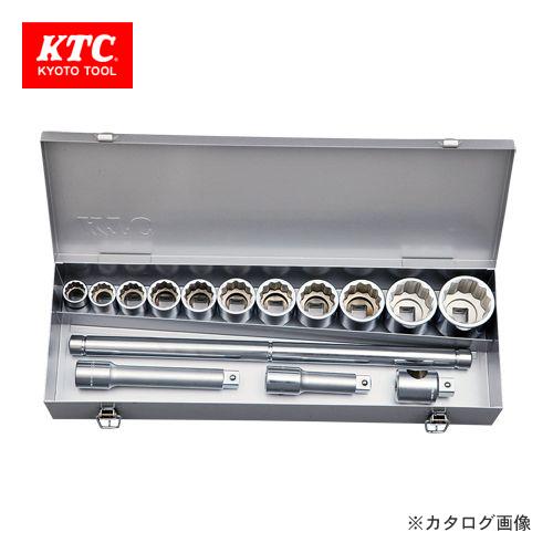 KTC 19.0sq.ソケットレンチセット[15点] TB614A