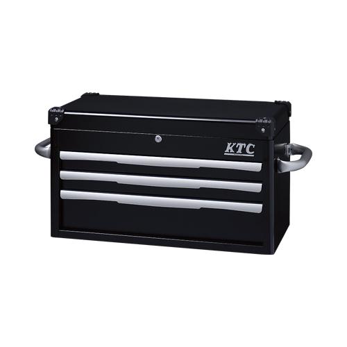【直送品】KTC トップチェスト(3段3引出し) ブラック EKR-1003BK