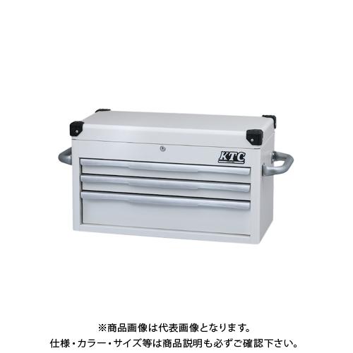 【運賃見積り】【直送品】KTC トップチェスト(3段3引出し) EKR-1003WH