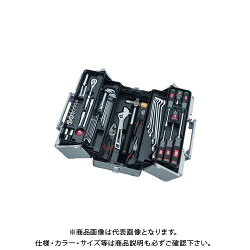 KTC 工具セット(両開きメタルケースタイプ) SK3561W