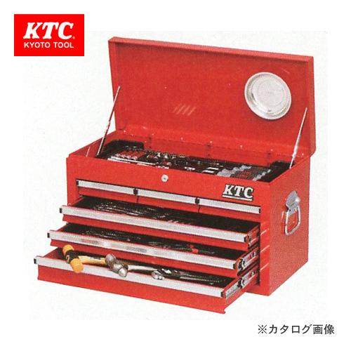 【4/1はWエントリーでポイント19倍相当!】【直送品】KTC 工具セット(チェストタイプ) SK36813XA