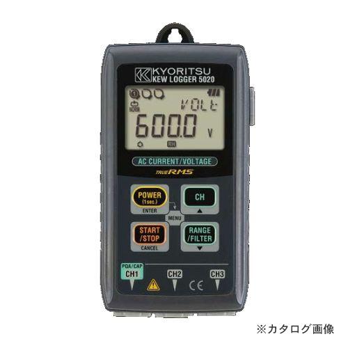 Data logger cue logger KEW 5020 for KYORITSU( Kyoritsu Electrical Insturments Works) electric current / voltage records