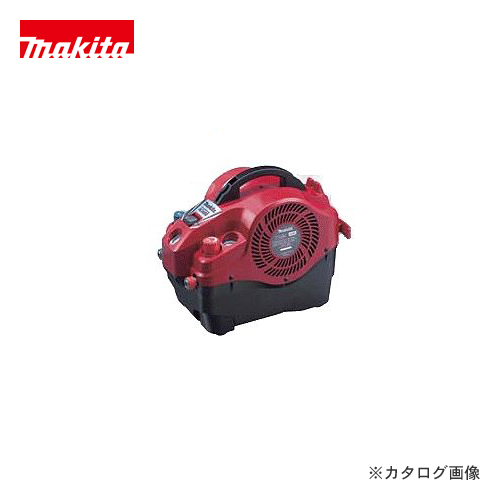 マキタ Makita 内装エアコンプレッサ(50/60HZ共用)(赤) AC400SR