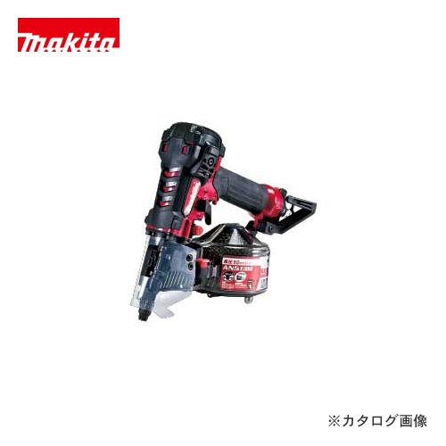 マキタ Makita 50mm 高圧エア釘打 エアダスタ付 赤 AN513H