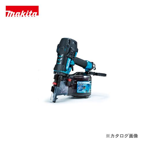 マキタ Makita 90mm高圧エア釘打 エアダスタ付 青 AN935HM