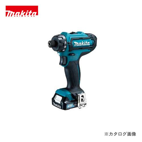 マキタ Makita 充電式ドライバドリル 10.8V バッテリー×2本・充電器・ケース付 DF031DSHX