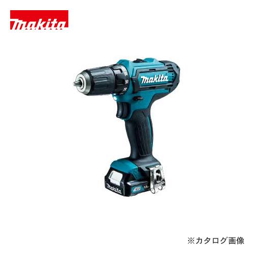 マキタ Makita 充電式ドライバドリル 10.8V バッテリー×2本・充電器・ケース付 DF331DSHX