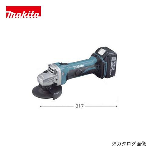 マキタ Makita 充電式ディスクグラインダ GA402DZ