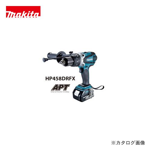 マキタ Makita 18V 3.0Ah 充電式震動ドライバドリル HP458DRFX