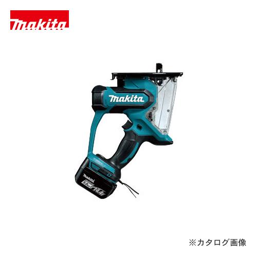 マキタ Makita 14.4V 充電式ボードカッタ バッテリー×2・充電器・ケース付 SD140DRTX