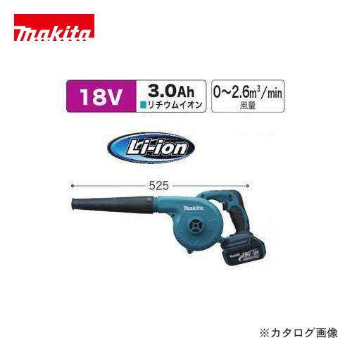 【20日限定!3エントリーでP16倍!】マキタ Makita 18V 充電式ブロワ(バッテリ・充電器付) UB182DRF