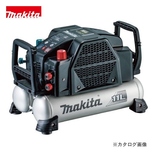 マキタ Makita 11L 46気圧 エアコンプレッサ 高圧/一般圧対応 黒 AC462XLB