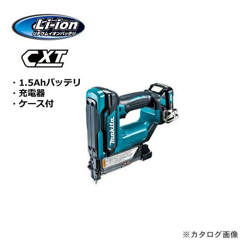マキタ Makita 10.8V 充電式ピンタッカ 1.5Ahバッテリ・充電器・ケース付 PT354DSH