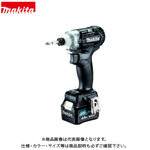マキタ Makita 充電式インパクトドライバ 黒 Li-ion 4.0Ah TD111DSMXB