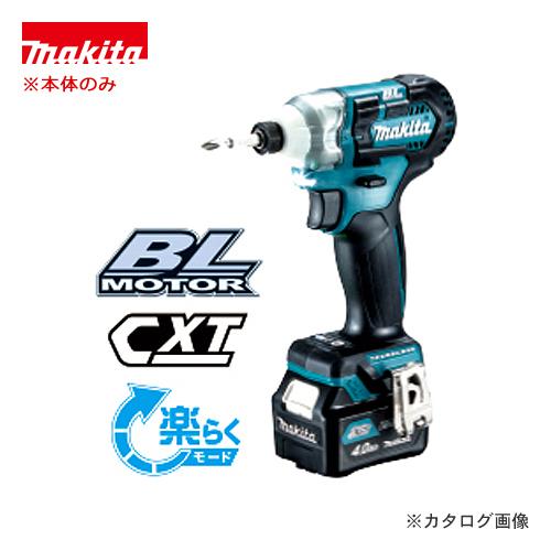 マキタ Makita 充電式インパクトドライバ 青 (本体のみ) TD111DZ