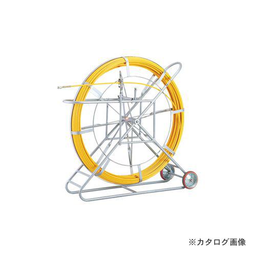 【タイムセール!】 FRPロッド(φ14mm×200m) KYS E-4152RM:KanamonoYaSan 【運賃見積り】【直送品】プロメイト  スーパーイエロー PROMATE-DIY・工具