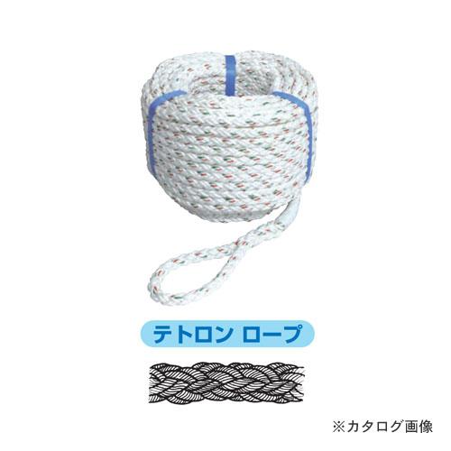 【直送品】プロメイト PRO MATE R-1230T8 テトロンクロスロープ(電動ウインチ用)300m φ12