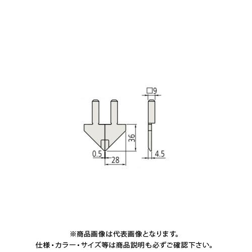 ミツトヨ Mitutoyo ノギス M形測定子/右 07CAA044