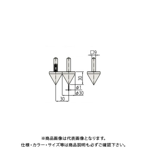 ミツトヨ Mitutoyo ノギス 穴ピッチ測定子 2個セット 07CZA057