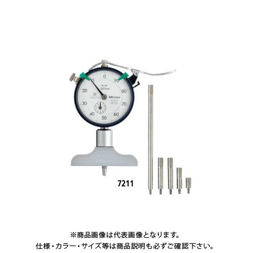 ミツトヨ Mitutoyo ダイヤルデプスゲージ 7211