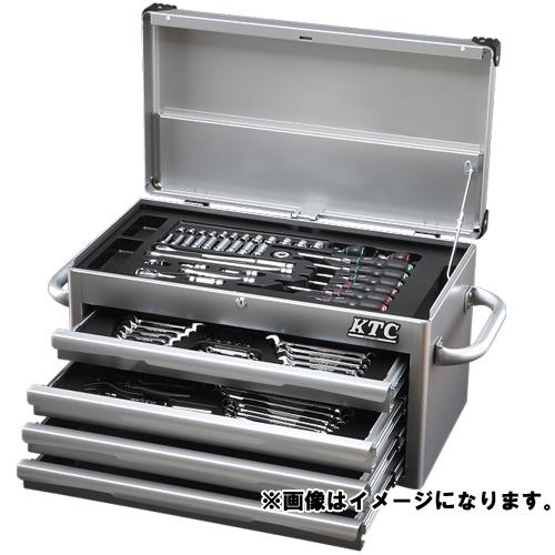 【直送品】ネプロス KTC ツールセット [70点組] シルバー NTX8701A