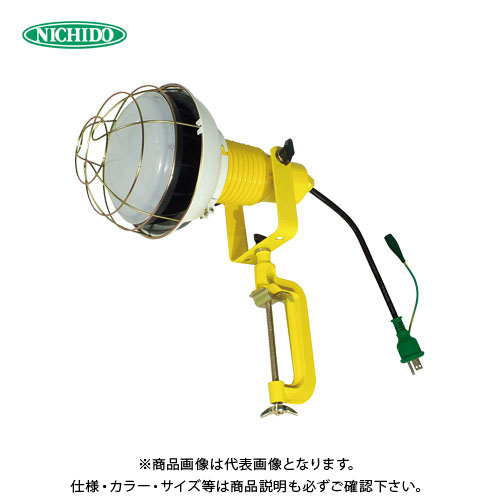 日動工業 LED 安全投光器 50W E付 0.3m 昼白色 ATL-E5000J