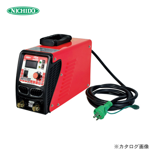 【お買い得】日動工業 100V専用 100A デジタル表示タイプ 溶接機 BM1-100DA