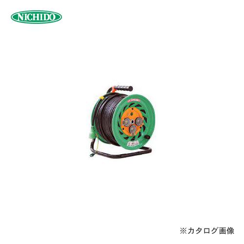 【6月5日限定!Wエントリーでポイント14倍!】日動工業 防雨型電工ドラム50M FW-E53