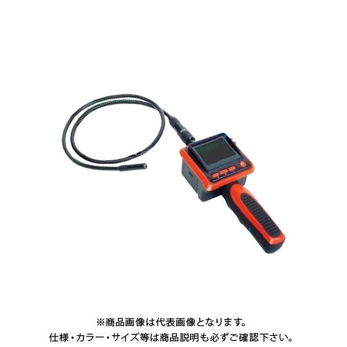 フレキシブルファイバースコープ/ 内視鏡 工業用 配管作業 液晶付き 在庫限り!