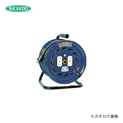 日動工業 100V 一般型ドラム 30m 極太電線仕様 アース無 NF-304F