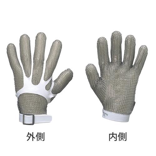 大中産業 耐切創手袋 鎖手袋 片手 M 欧州サイズ