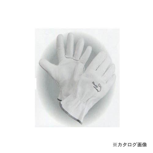 大中産業 [10双入] 牛革手袋 牛トレーラー手袋 120W