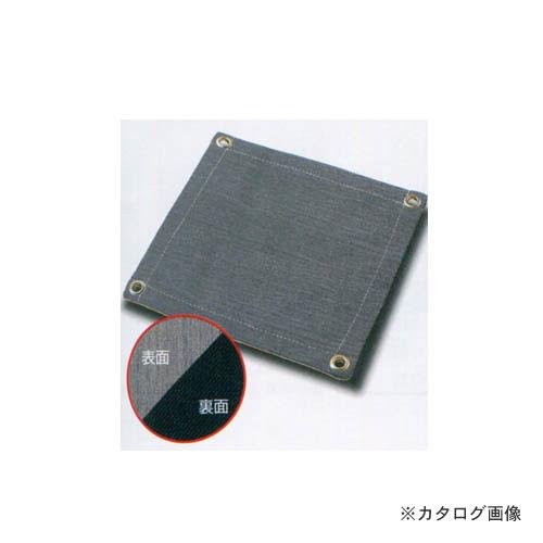 大中産業 耐熱クロス ブラックパワー KS 片面シリコンコート 620S-4