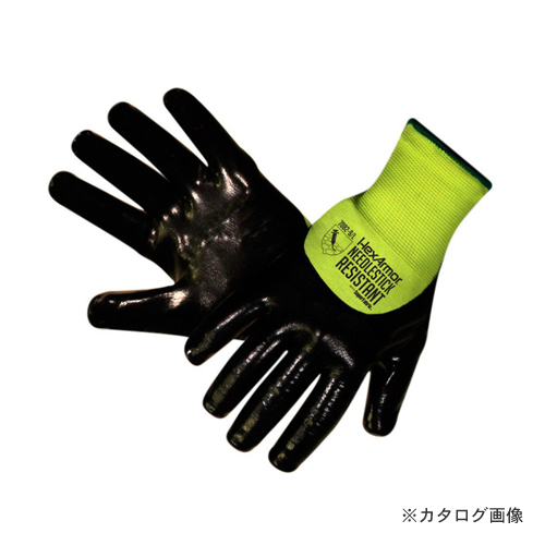 大中産業 ヘックスアーマー HexArmor 耐針手袋 Sharp Master TM サイズL 7082-9
