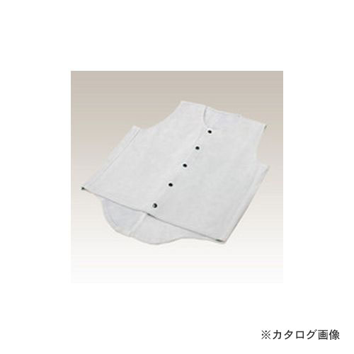 大中産業 床革ベスト 4Lサイズ VT-6