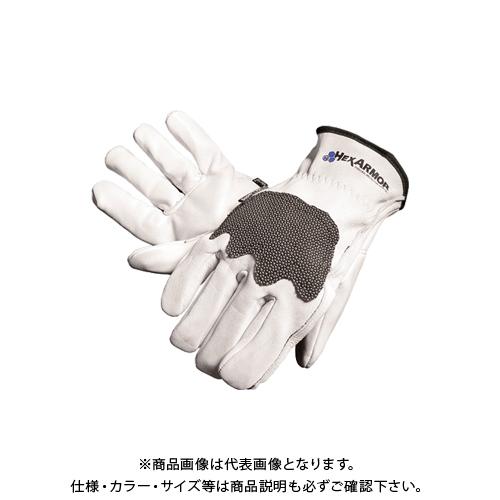 大中産業 ヘックスアーマー HexArmor 耐切創・耐突刺手袋 STEEL LEATHER TM III サイズL 5033