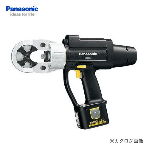 パナソニック Panasonic EZ3902N22K 12V 2.8Ah 充電式 圧着器