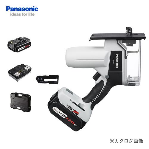パナソニック Panasonic EZ4543LS2S-B 14.4V 4.2Ah 充電式角穴カッター (黒)