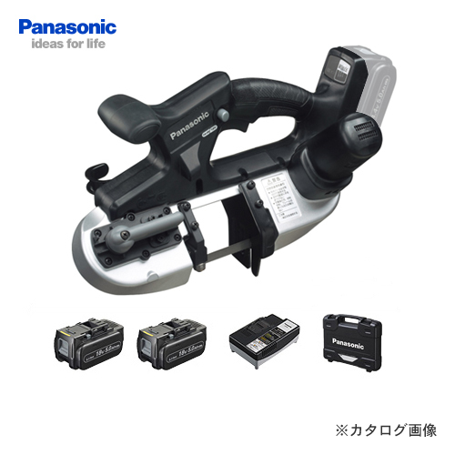 【クオカード2500円分付】パナソニック Panasonic EZ45A5LJ2G-B 18V 5.0Ah バンドソー