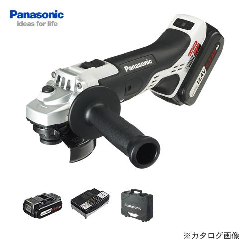 パナソニック Panasonic EZ46A1LS2F-H 14.4V 4.2Ah 充電式ディスクグラインダー 100
