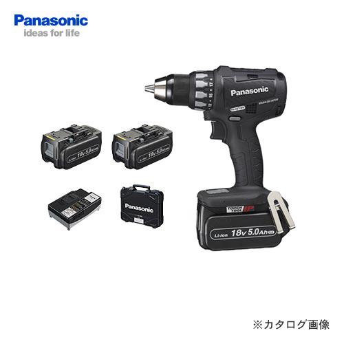 【お買い得】パナソニック Panasonic EZ74A2LJ2G-B Dual 18V 5.0Ah 充電ドリルドライバー (黒)