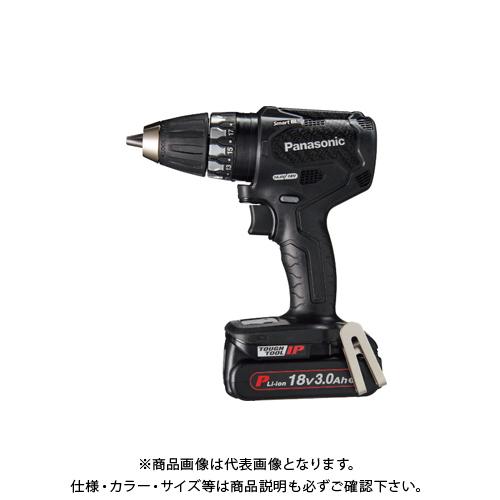 人気特価 3.0Ah電池2個・充電器・ケース付 Panasonic パナソニック Dual 18V KYS  充電インパクトドライバー EZ74A3PN2G-B:KanamonoYaSan 黒-DIY・工具