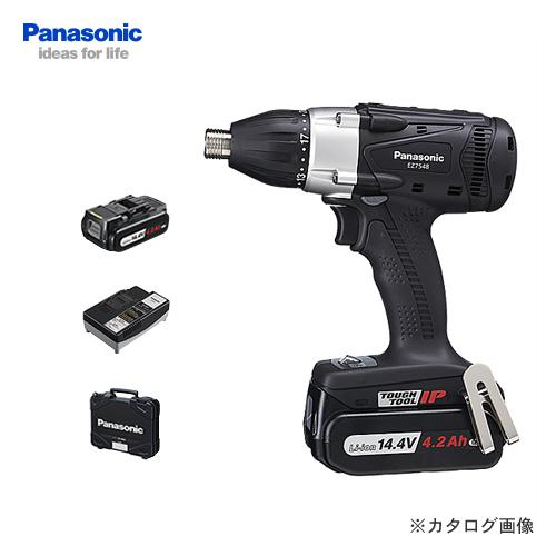 【お買い得】パナソニック Panasonic EZ7548LS2S-B 14.4V 4.2Ah 充電式マルチインパクトドライバー (黒)