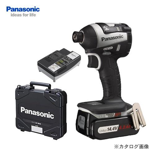 【KYSオリジナル】パナソニック Panasonic EZ75A7LS1F-H Dual 14.4V 4.2Ah 充電式インパクトドライバー フルセット (グレー)