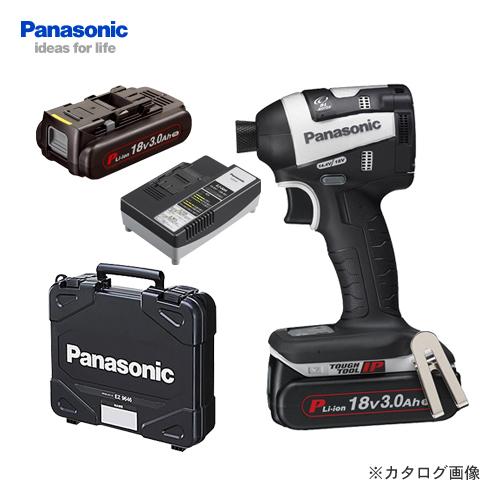 コンパクトヘッドで取り回しがラク 【12月10日はストアポイント5倍!】【数量限定特価】パナソニック Panasonic EZ75A7PN2G-H 18V 3.0Ah 充電インパクトドライバー (グレー)